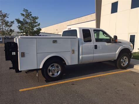 short bed utility body custom truck van solutions photo gallery semi service