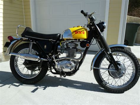 1969 bsa 441 victor special with only 4800 all