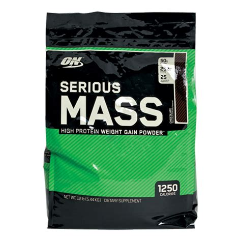 On Serious Mass Serious Mass By Optimum Nutrition At Musclesup