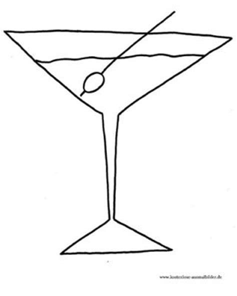 malvorlagen ausmalbilder cocktailglas ausmalbilder