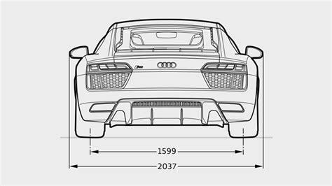 Audi R8 Dimensions by Audi R8 V10 Plus Dimensions Audi Gurgaon