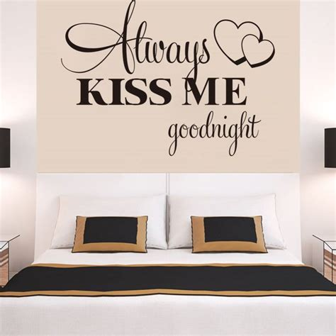 stickers on wall for bedroom 25 best bedroom wall quotes on picture wall wall of quotes and wedding photo