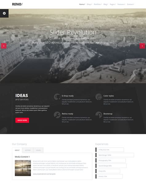 templates bootstrap events 25 responsive bootstrap 3 html website templates web