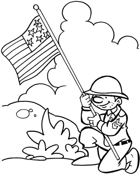 thanks for protecting our freedom coloring page download