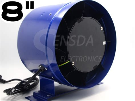 8 fan controller 8 quot inline duct fan w speed controller 8 inch exhaust