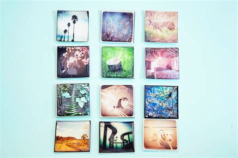 Handmade Fridge Magnets - diy turn your fridge into a gallery wall make photo