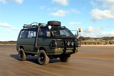 mitsubishi delica off road delica space gear l400 exceed off road cervan