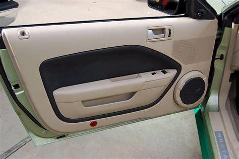 2005 Mustang Interior Door Panels green 2005 ford mustang convertible mustangattitude photo detail