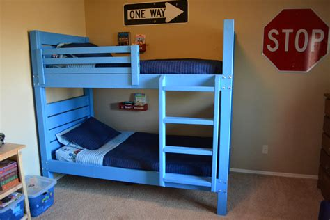 build a bunk bed pdf build bunk bed diy plans free