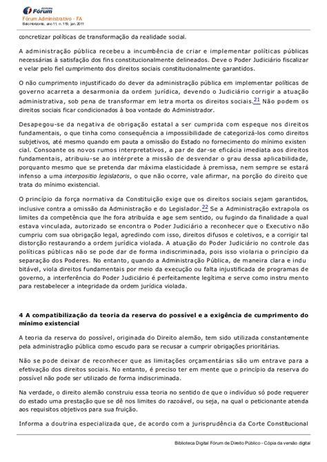 Direitos sociais e Administração Pública: a