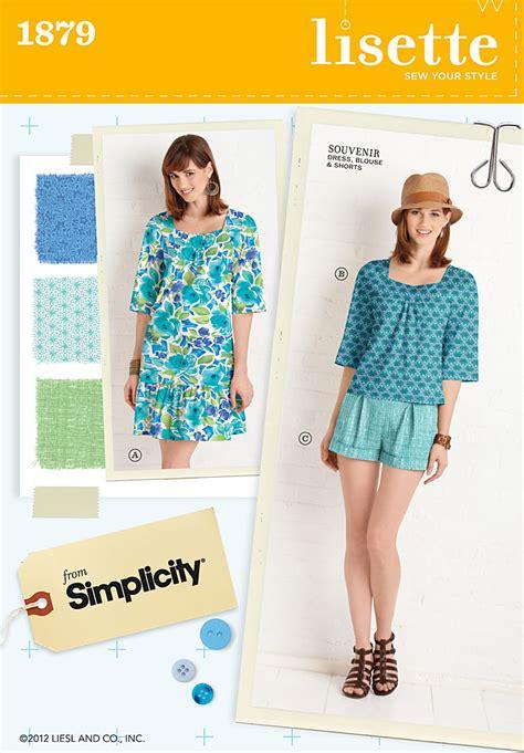 pattern review lisette simplicity 1879 misses miss petite sportswear