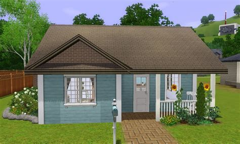 sims 3 house building starter home lovely begin