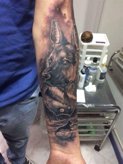 shepherd tattoo designs german shepherd arm pics ideas pinte