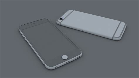 3ds max iphone 6 modeling tutorial part 6