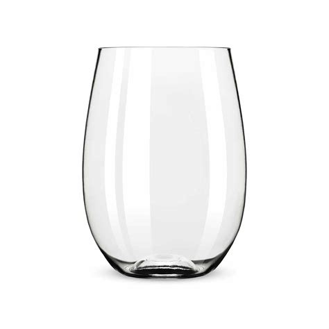stemless wine glasses flexi stemless wine glass by true elegant gifts