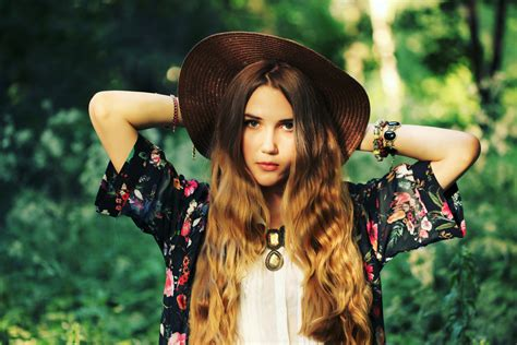 classic boho chic lady of style how to rock the ombre look
