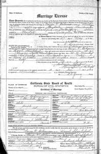 Los Angeles Marriage License Records Wedding Wednesday Hazel Shackford Of New Hshire Married George F Bohannan In