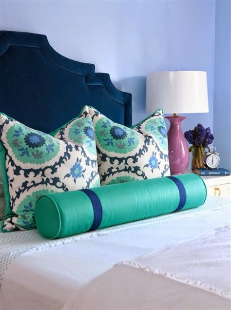 navy and turquoise bedroom house of turquoise alisha gwen interior design