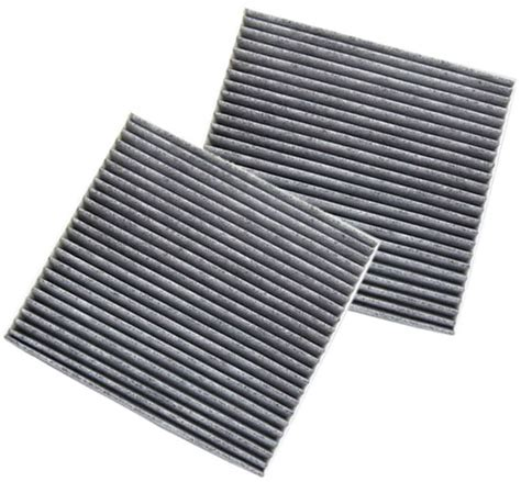 2009 Toyota Camry Cabin Air Filter by 2 Pack Hqrp Charcoal Cabin Air Filter For Toyota Solara