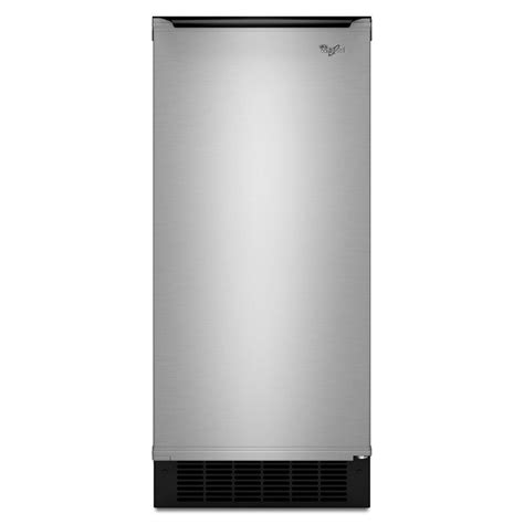 Freestanding Or Built In whirlpool 15 in 50 lb freestanding or built in icemaker