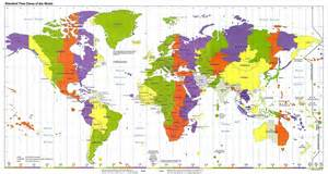 Time Zones Map by Day And Night Explained For Children Day Night Seasons
