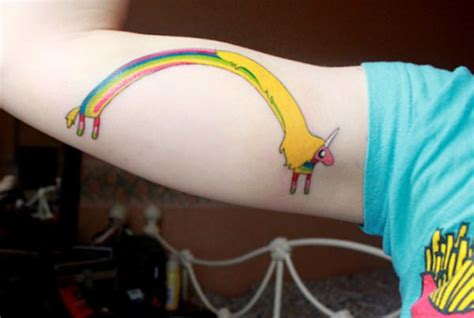 rainbow unicorn tattoo designs 81 unicorn tattoos where magic and mysticism meet