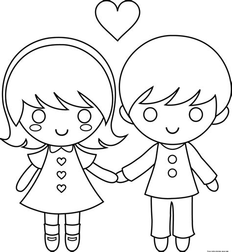 coloring pages love couple printable couple valentine day coloring pages for kidsfree