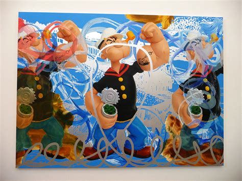 koons basic art series serpentine motion koons popeye series serpentine gallery 171 arrested motion star