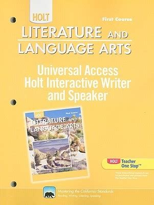 0030651026 holt literature and language arts california holt literature and language arts universal