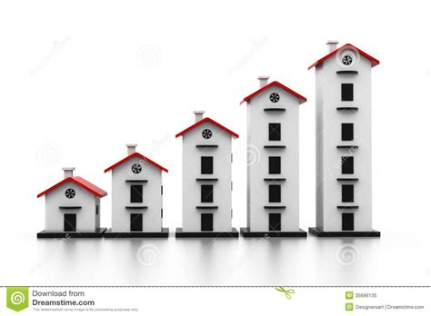 housing market graph graph of the housing market royalty free stock photo image 35696135