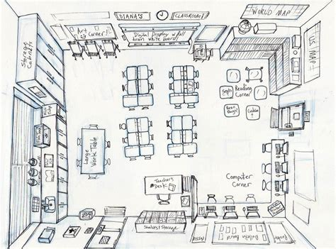 classroom layout dwg my classroom design by diana huang on deviantart