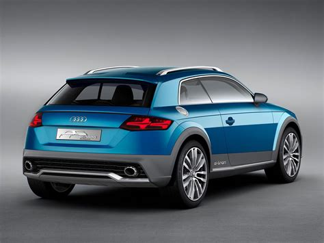 audi crossover 2014 audi crossover coupe concept rear three quarters leak