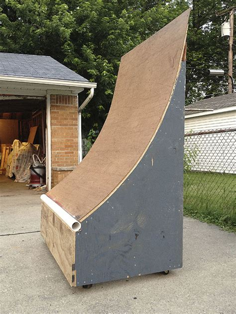 How To Build A Halfpipe In Your Backyard by Triyae Backyard Quarter Pipe Plans Various Design Inspiration For Backyard