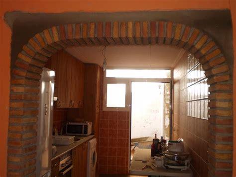 construir arco de ladrillos casero arco de ladrillo ladrillo cocina ladrillo