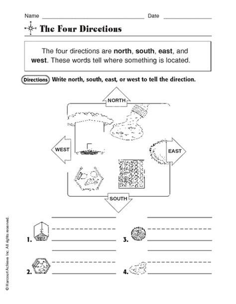 compass worksheet grade south east west worksheets tecnologialinstante
