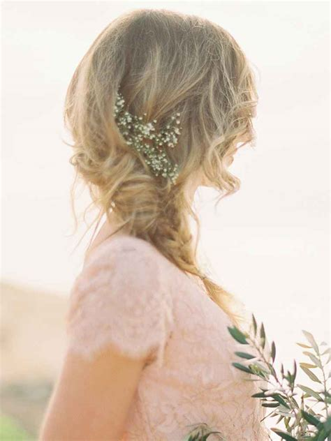 bohemian wedding hairstyles for hair 18 boho bridesmaid hairstyles