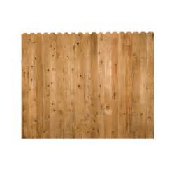 shop incense cedar dog ear wood fence picket panel common