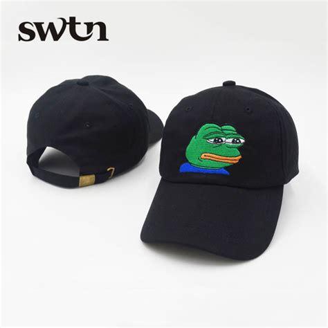 Trucker Hat 3seconds Genuine High Quality っnew pink black sad frog frog baseball hat cap hip hop