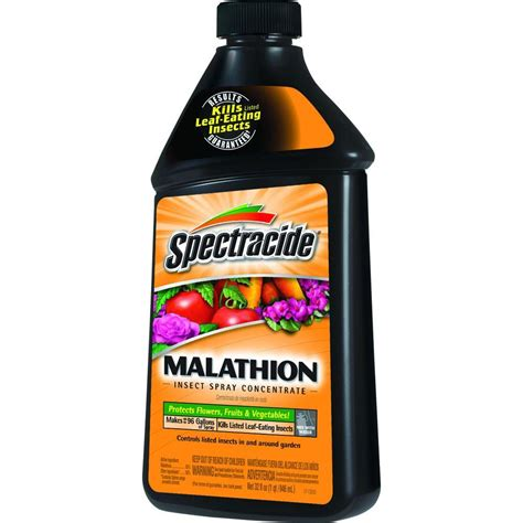 spectracide 32 fl oz malathion concentrate hg 30900 2