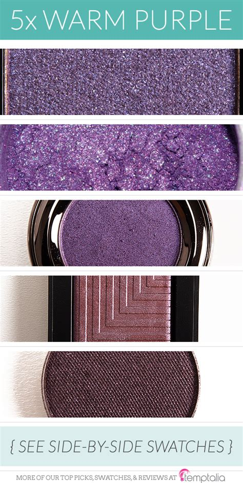 warm purple 5 gorgeous warm toned purple eyeshadows