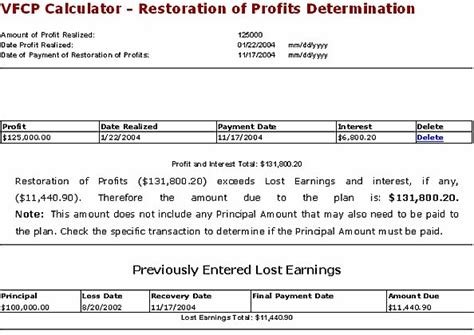irc section 6621 voluntary fiduciary correction program vfcp online