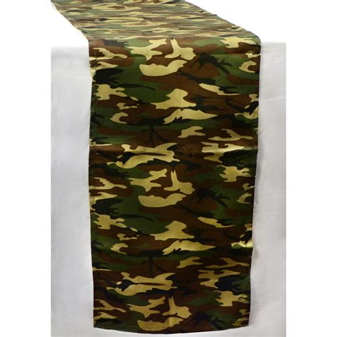 Camo Table Runners by 6 Camouflage Fabric Table Runner B35 R81 Craftoutlet