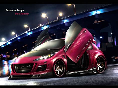 peugeot pink peugeot 207 pink monster peugeot wallpaper 20099116