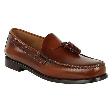 bass mens loafers bass weejuns larkin loafers mens gents ebay