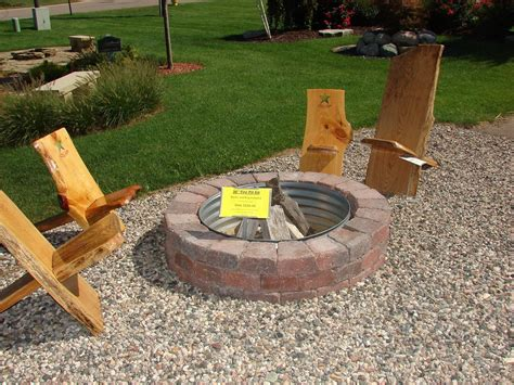 amazing in ground gas pit kit garden landscape