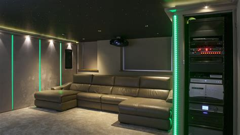 home theatre design uk turn garage into home cinema finite solutions