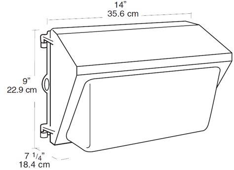 qt layout weight wp2h150psq rab lighting