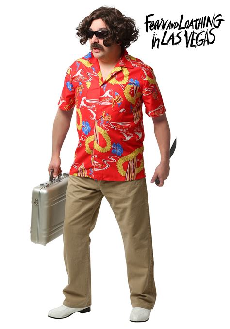 las vegas costumes fear and loathing in las vegas adult dr gonzo costume