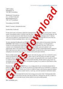 Formal Letter Zinnen Voorbeeld Sollicitatiebrief Gratis Downloads