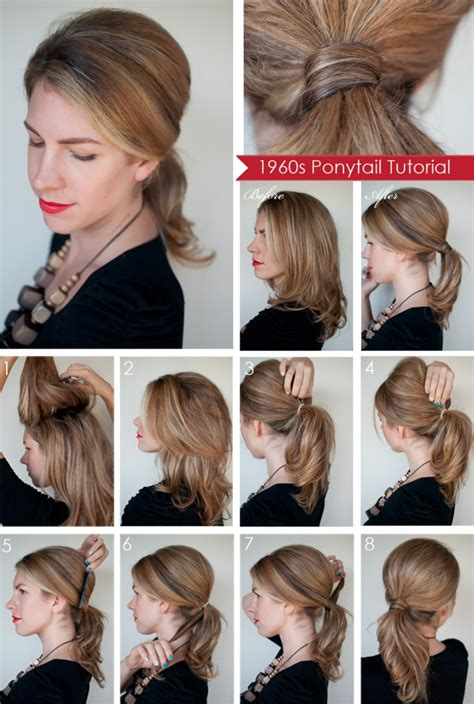 easy hairstyles for short hair tutorial step by step 15 cute and easy ponytail hairstyles tutorials popular